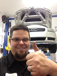 Audi Denton car repair mechanic shop services